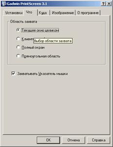 Скриншот Gadwin PrintScreen (миниатюра)