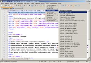 Скриншот Notepad++ (миниатюра)