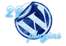 29 wordpress plugins